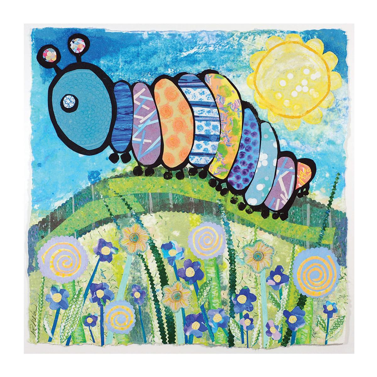 Caterpillar's Coat of Many Colors - 1