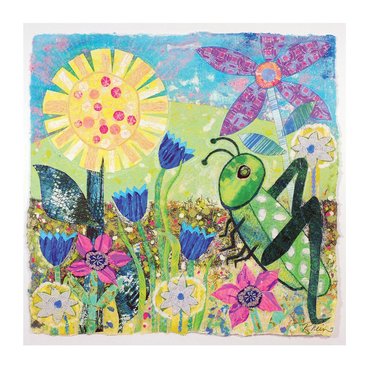 Good Luck Grasshopper - 1