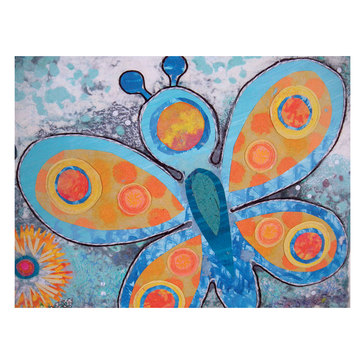 Butterfly Circles of Life - 1a