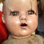 My friend Sally Murray's childhood doll